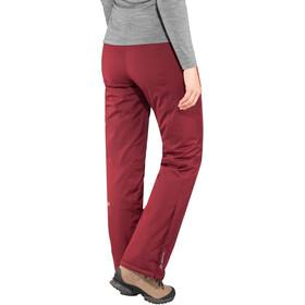 Maier Sports Ronka Pantalon de ski Stretch mTex Femme, cabernet